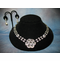 Ansonia Round Crystal Jewelry Set 7712EN