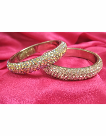 CLEARANCE: Brilliant Crystal Bangle Bracelet