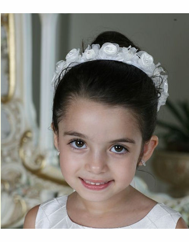 Flower Girl Wreath or First Communion Wreath