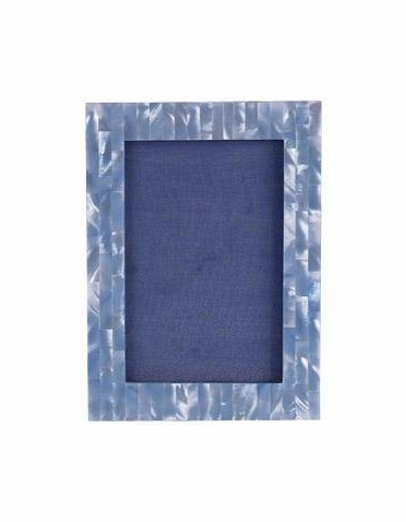 Blue Mother of Pearl Frame: ONLY 1 LEFT!