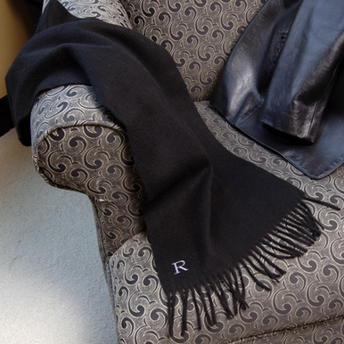 Personalized Cashmere Scarf