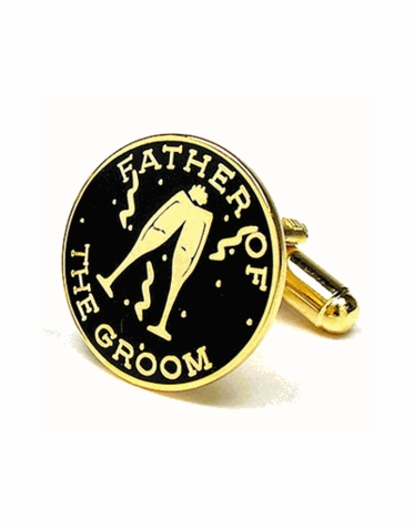 Father Of The Groom Cufflinks