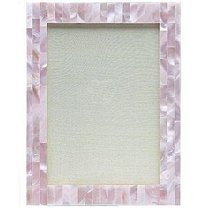 Pink Mother of Pearl Frame: ONLY 1 LEFT!