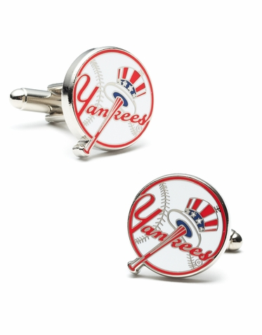 Officially Licensed NY Yankees Cufflinks
