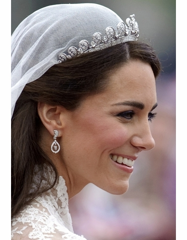 Kate Middleton Inspired Wedding Earrings