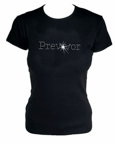 Crystal Previvor T-Shirt in Misses Sizes