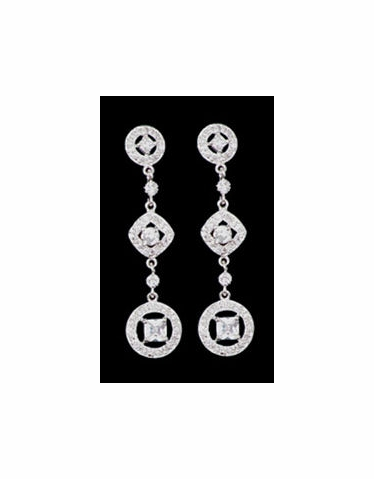 CLEARANCE: Special Collection Geometric Shaped Drop Earrings EE909