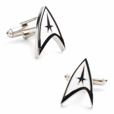 Star Trek Communicator Badge Cufflinks