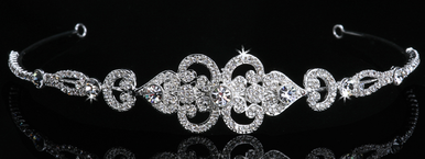 En Vogue Bridal Crystal Tiara 856