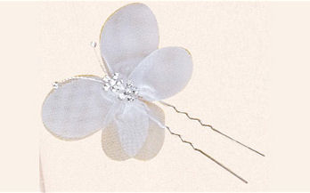 Set of Six Butterfly Bridal Hair Pins