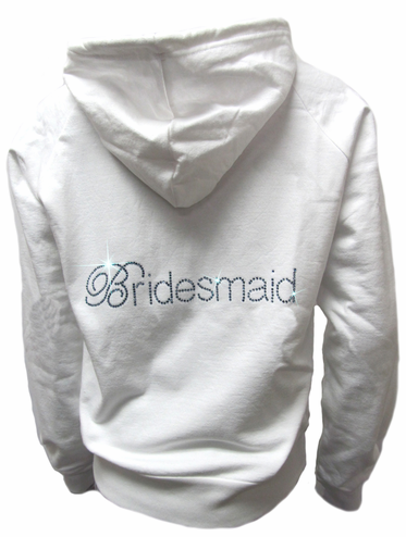 Custom Bridal Party Hoodie - Bride Bridesmaid and Other Titles