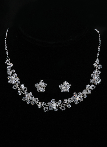 En Vogue Bridal Necklace & Earring Set NL1989