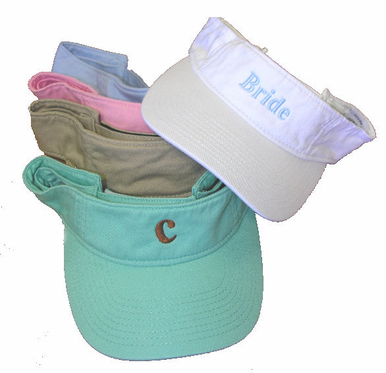 Custom Embroidered Visor