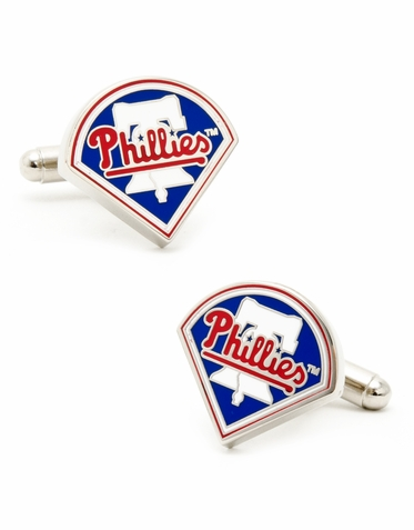Officially Licensed Philadelphia Phillies Cufflink