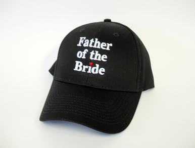 Embroidered Father of the Bride Cap