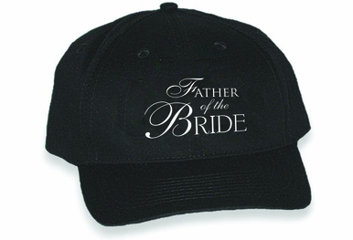 Embroidered Father of the Bride or Groom Cap - Choose Cap Color and Thread!
