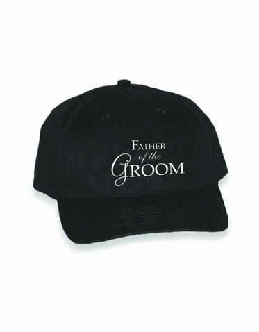 Embroidered Father of the Groom Cap - Choose Cap Color and Thread!