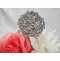 CLEARANCE: Set of 2 Crystal Cake Flowers - Flower Cake Jewelry