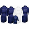 Crystal Embellished Satin Robes with Front Personalization and Optional Back Personalization