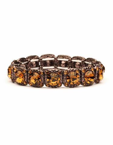 Rhinestone Crystal Stretch Bracelet Available In An Array Of Gorgeous Colors