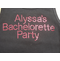 Personalized Crystal Bachelorette Party Tank Tops