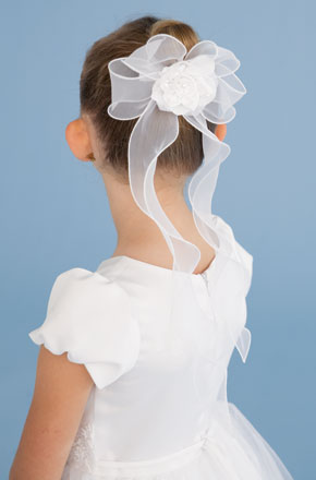 US Angels Flower Girl and First Communion Veil V-06