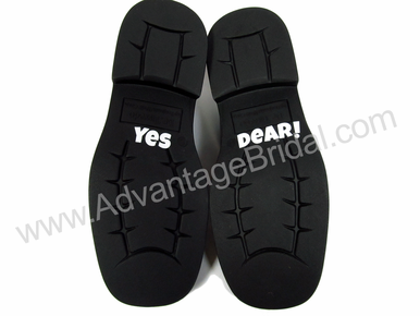 Custom Yes Dear Shoe Decals