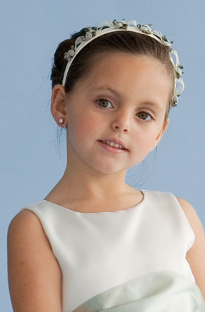 US Angels Flower Girl Headband  V-42