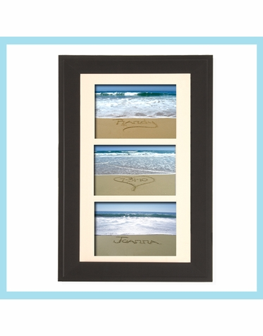 Three Tier Message in the Sand Photo Framed Set