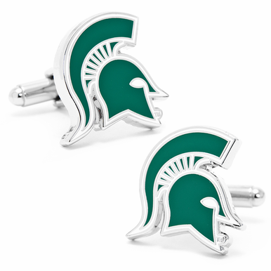 Michigan Spartans Cufflinks