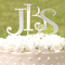 Monogram Cake Letters with Swarovski Crystals