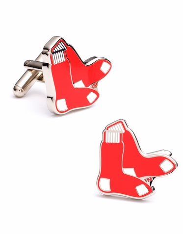 Officially Licensed Boston Red Sox Cufflinks