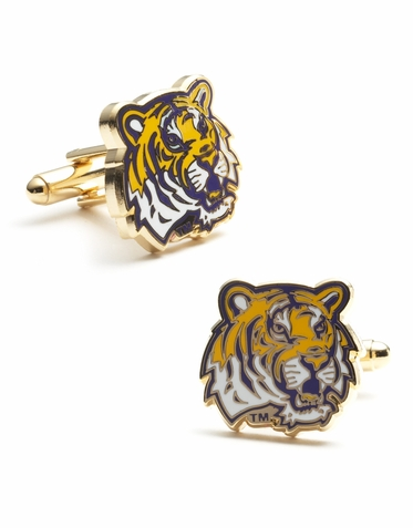 Louisiana State Tigers Cufflinks