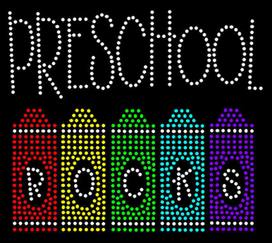 Preschool Rocks Rhinestone T-shirt