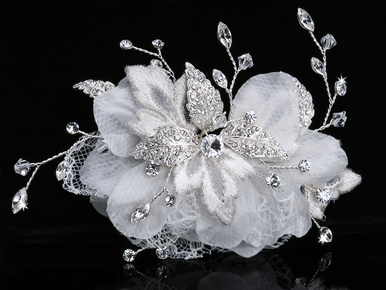 En Vogue Bridal Hair Flower FL301