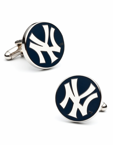 Officially Licensed NY Yankees Logo Cufflinks
