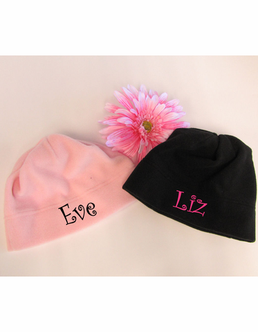 Monogrammed Beanie - Personalized Hat