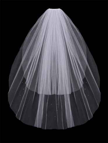 En Vogue Two Tier Veil V64F