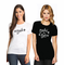 Bride and Bride's Babes with Martini Design Wedding T-Shirts