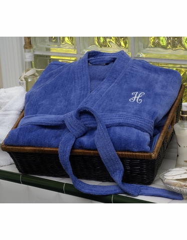 Personalized Velour Robe in Choice of Color