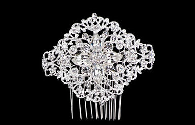 Intricate Rhinestone Bridal Side Comb TRS2278