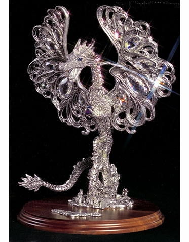 Wind Dragon Limited Edition Pewter Sculpture