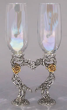Rose Heart Flutes