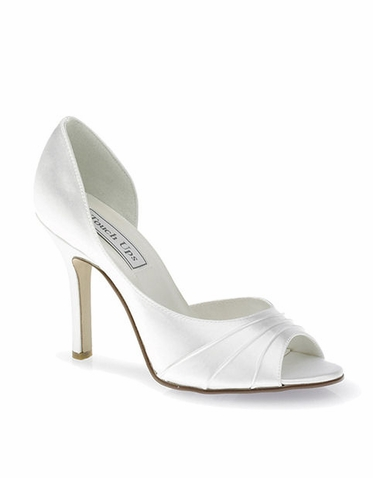 CLEARANCE: Touch Ups Flash Dyeable Satin Bridal Shoes