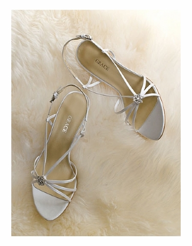 CLEARANCE SALE! Elena by Grace Wedding Shoes - 5.5M or 6.5M