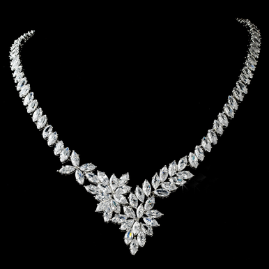 Stunning Cubic Zirconia Necklace - N9830