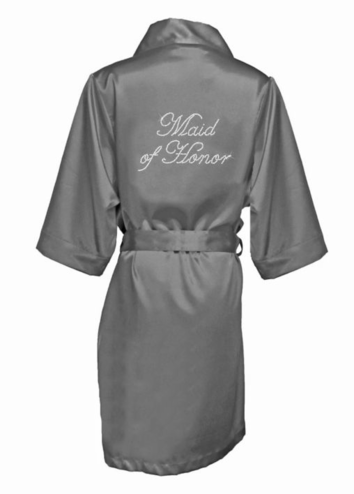 Bridal Party Robes in Luxurious Silky Satin