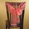 Beaded Organza Chair Wraps - Organza Chair Decorations