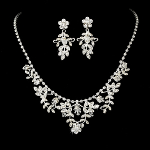 Crystal Jewelry Set NE 7207