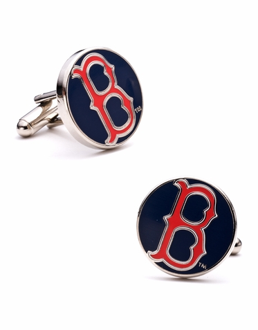 Officially Licensed Classic Boston Red Sox Cuff Links
